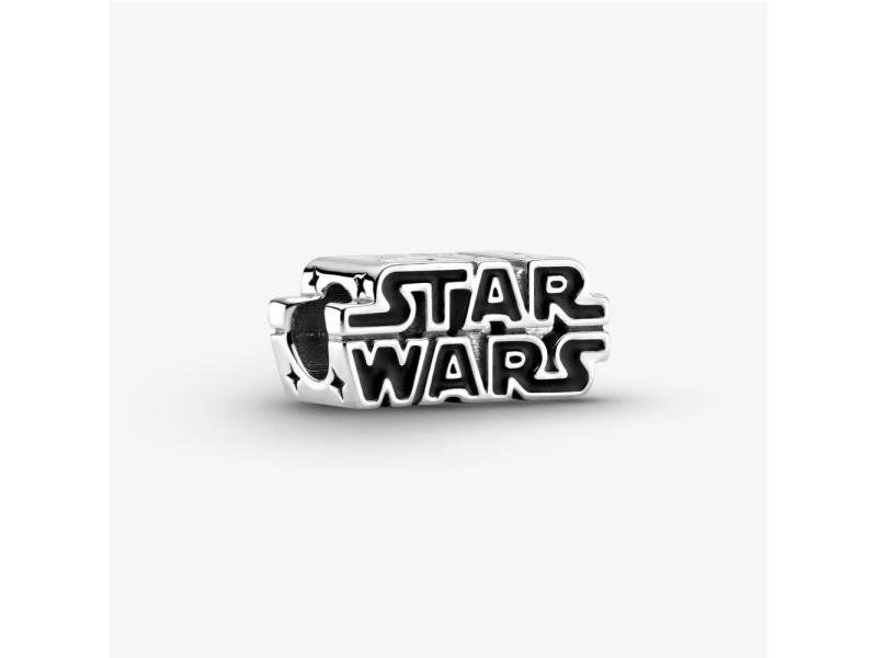 Star Wars, Charm in Argento con logo in 3D € 49,00