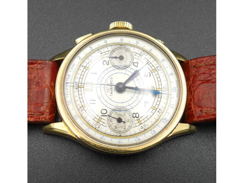 Cronografo oro anni  40